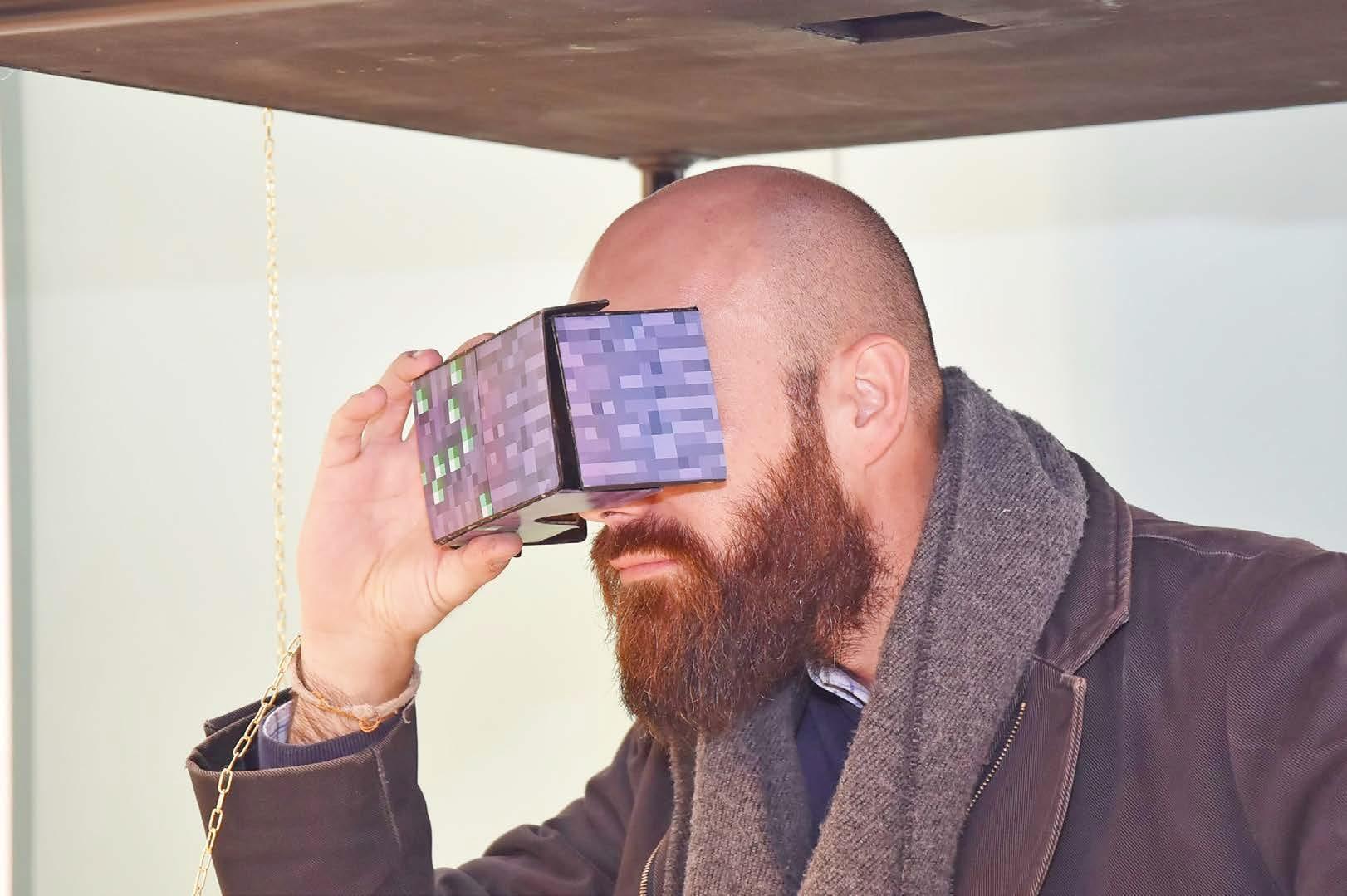 Corrado Bonomi, Lele Picà con occhialini 3D
