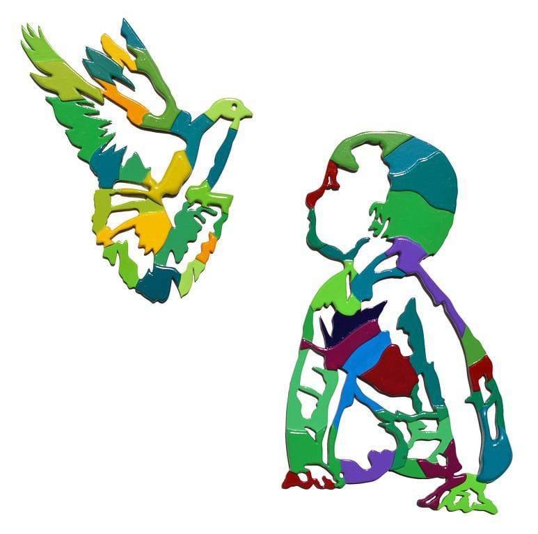 Dario Brevi La colomba della pace guarda in faccia il suo futuro 2016