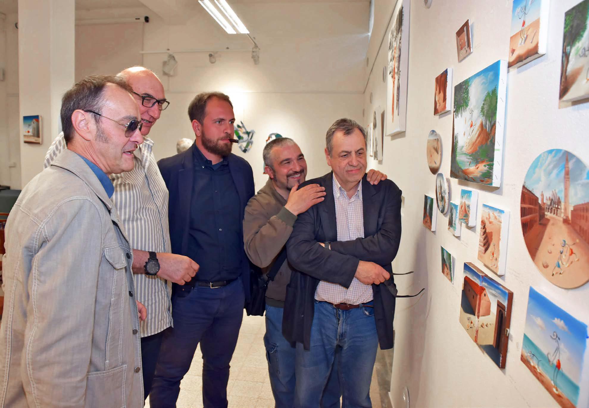 Francesco Garbelli, Dario Brevi, Tommaso Chiappa, Davide Ferro, Gianni Cella