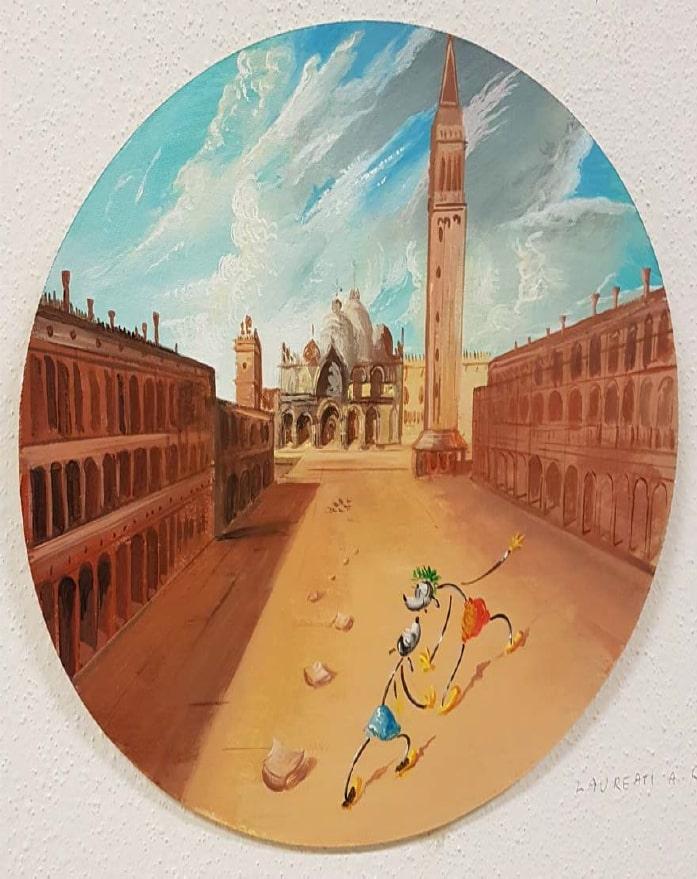 Olinsky, Laureati innamorati a Venezia 1897