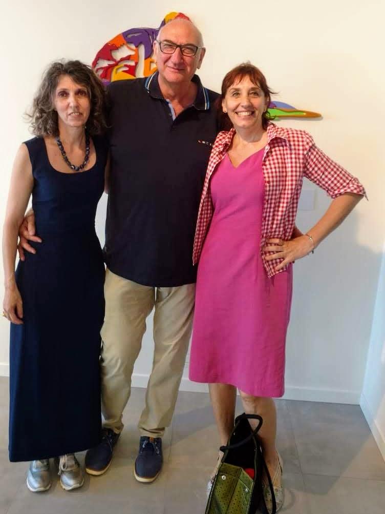 Mostra Brevi-Martinez a Borghetto - Artisti e Sabrina Ruggeri