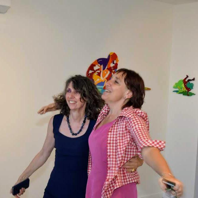 Mostra Brevi-Martinez a Borghetto - Florencia Martinez e Sabrina Ruggeri