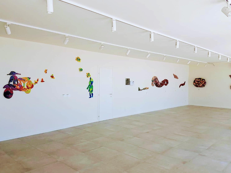 Mostra Brevi-Martinez a Borghetto - La mostra