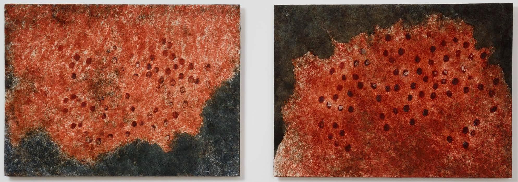 Delfina Camurati, Impronte 2 pezzi 2017