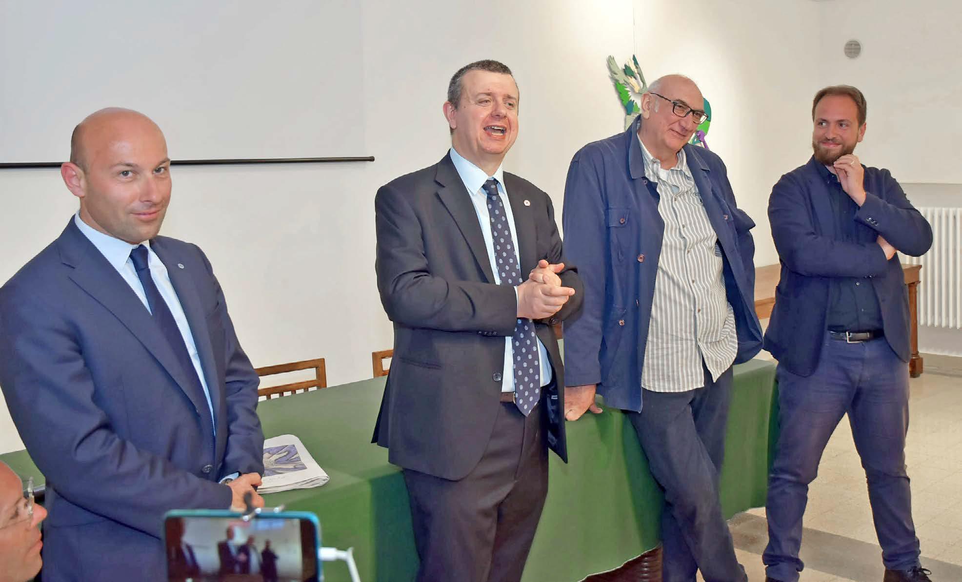 Alberto Vaghi, Maurizio Ettore Maccarini, Dario Brevi, Tommaso Chiappa
