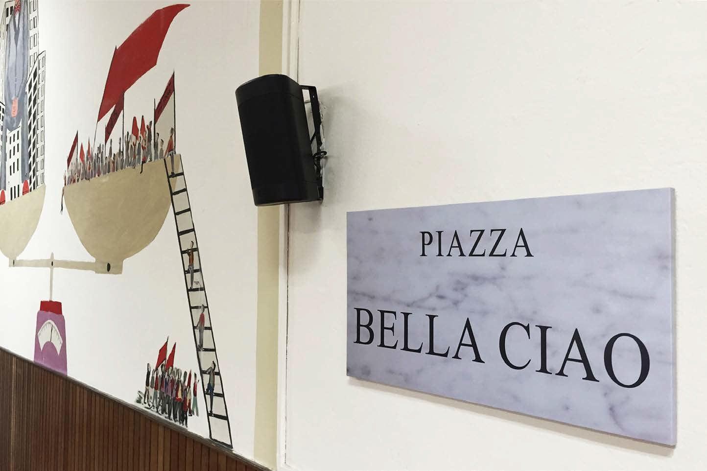 Francesco Garbelli Piazza Bella Ciao 2016