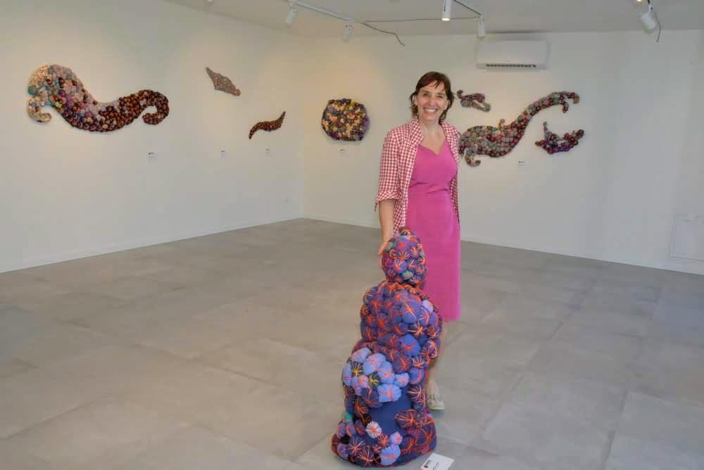 Mostra Florencia Martinez a Borghetto - Florencia e le sue opere