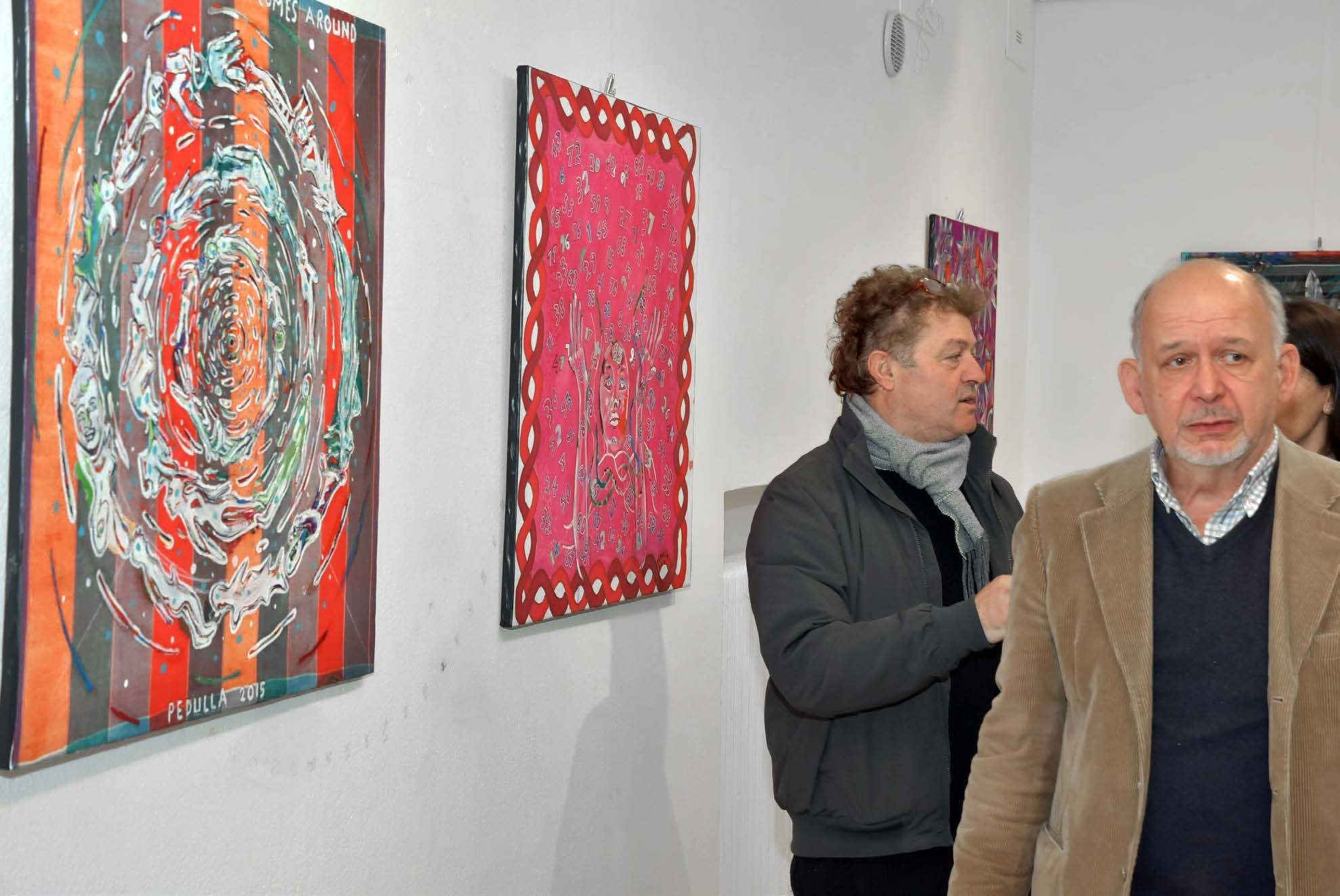 Gianni Pedullà, Adriano Campisi