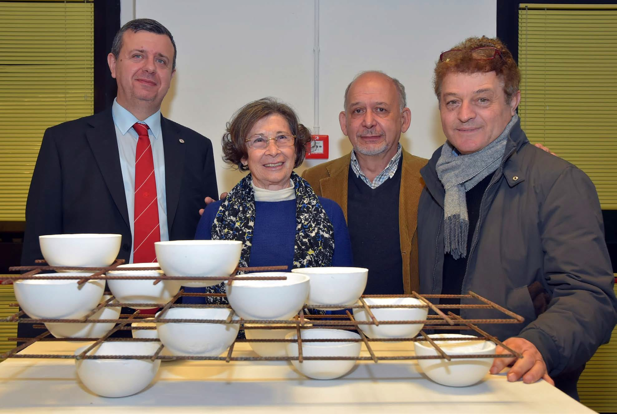 Maurizio Ettore Maccarni, Delfina Camurati, Adriano Campisi, Gianni Pedullà