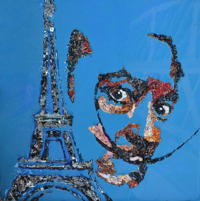 LADY BE, Dalì e Torre Eiffel 2016