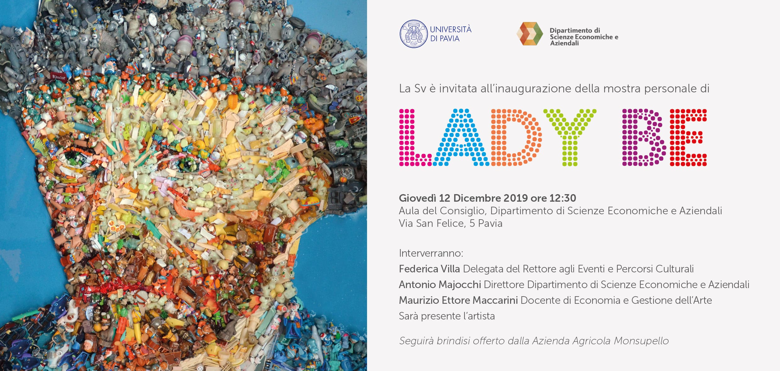 Lady Be Mosaici Contemporanei