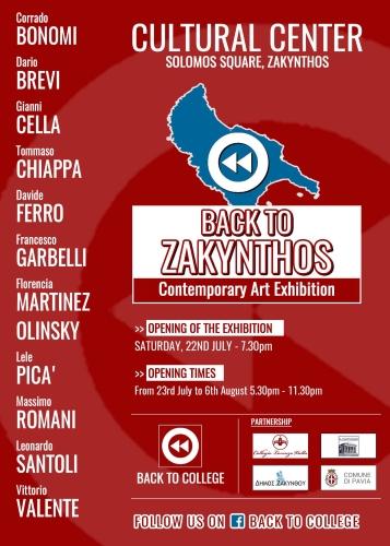 locandina back to zakynthos 2017